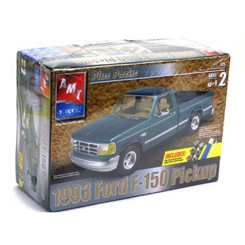 1993 Ford F-150 Pick-Up Truck 1/25th Scale Plus Packs Model Kit