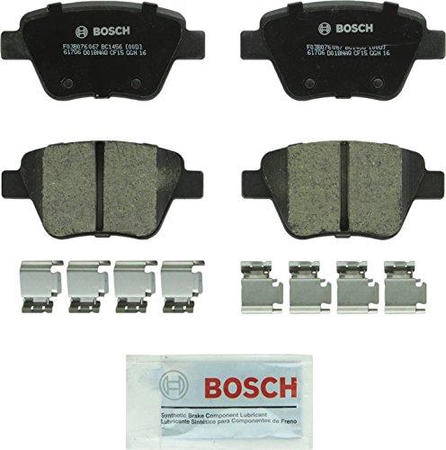 Volkswagen Brake Pad Set - Bosch BC1456 QuietCast Premium Ceramic Rear Disc Brake Pad Set