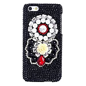 TY Ruby Garland Pattern Metal Jewelry Back Case for iPhone 5C