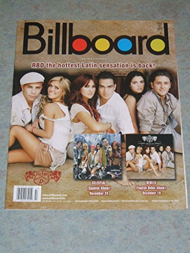 RDB l Yusuf Islam (Cat Stevens) l Gloria Estefan - November 25, 2006 Billboard