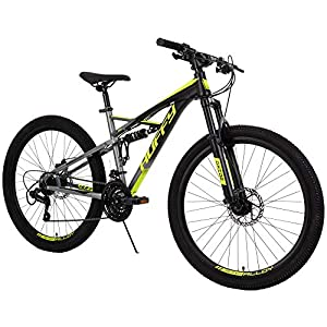 Huffy 26-inch Oxide Mens Mountain Bike – Dual Suspension