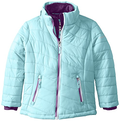 70fd4ec1ba31 Free Country Little Girls  Wave Quilted Winter Coat