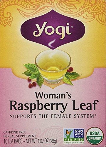 Woman's Tea Raspberry Leaf, 16 Bags (Pack of 2)