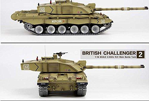601695203160 Heng Long Challenger 2 RC British 1 16 2.4G MBT Tank Desert - Platinum  Version   Metal Tracks   Gear box   Metal Road Wheels Big Boyz®  Amazon.co. uk  Toys   ...