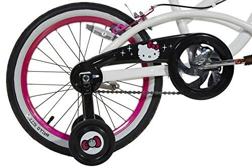 Hello Kitty Girls Bike, White/Black/Pink, 18''/One Size by Hello Kitty (Image #5)