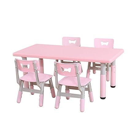 Tavoli E Sedie In Plastica Per Bambini.Zh Altezza Regolabile Per Tavoli E Sedie Per Bambini Tavolo