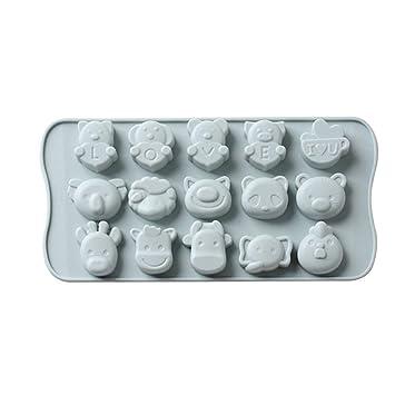 Amazon.com: Molde de silicona para galletas, galletas ...