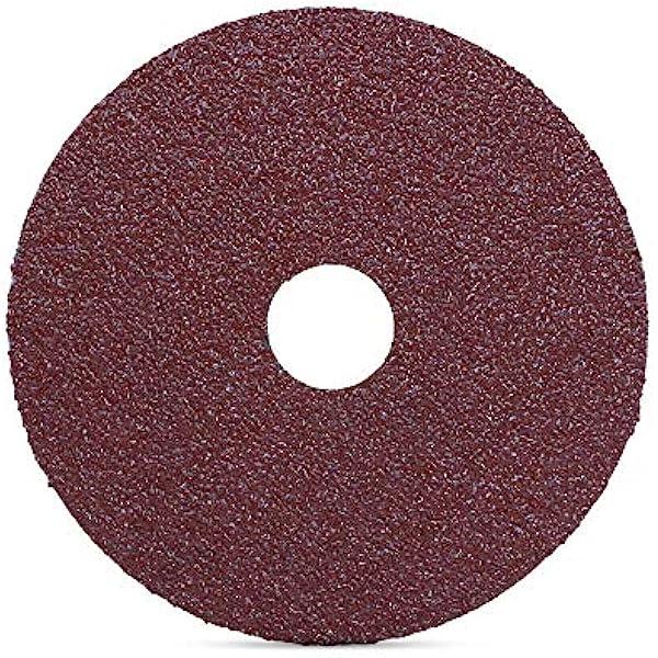 Aluminum Oxide Non-Woven Finishing Disc 63 Units 4 in Disc Dia