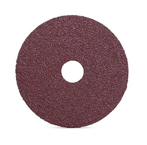 25-Pack 50-Grit Shark 45500 4.5-Inch Aluminum Oxide Resin Fibre Discs
