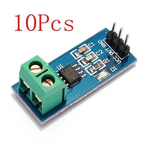 10Pcs 30A New Range Current Sensor Module Board For ACS712 by BephaMart