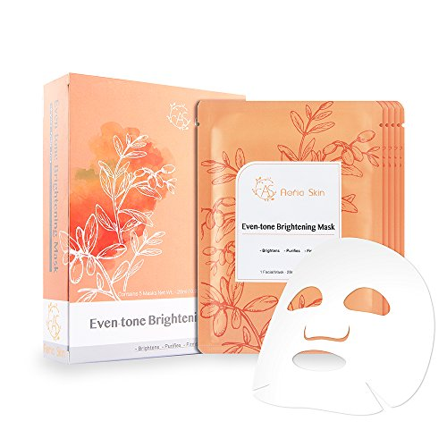 Even-tone Brightening Facial Mask by Aeria Skin with Hydrati