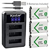 #10: Kastar Battery x3 + Charger for Sony NP-BX1 HDR-AS200V HDR-AS30 HDR-AS300 HDR-AS50 Action Cam HDR-CX240 HDR-CX405 HDR-CX440 HDR-GW66 HDR-GWP88 HDR-MV1 HDR-PJ240 HDR-PJ270 HDR-PJ405 HDR-PJ410 HDR-PJ440