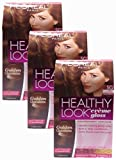 L'oreal Healthy Look Creme Gloss - Medium Golden Brown 5g (Pack of 3)