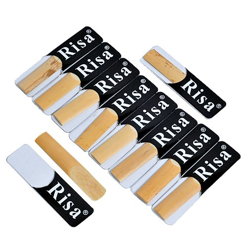 Kmise A0712 10 Bb Clarinet Reeds Reed Size 2.5
