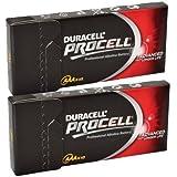 Duracell Procell MN2400 - Juego de pilas alcalinas (AAA, 1,5V, LR037, 20 unidades)