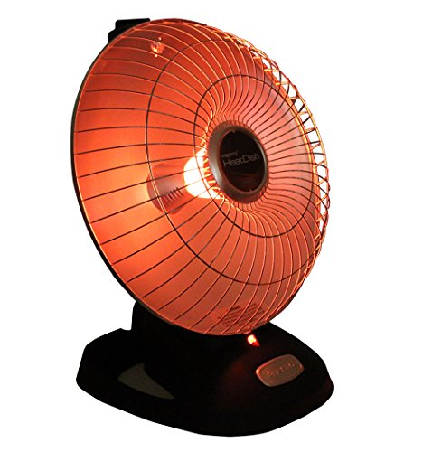 Presto Heat Dish Parabolic Electric Heater With Quick, Concentrated Heat]()
