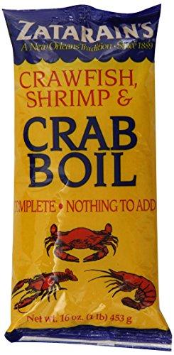 Zatarain's New Orleans Style Crawfish, Shrimp & Crab Boil, 16 oz (Pack of 12) - New Orleans Shrimp Boil