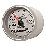 Auto Meter 4903 Ultra-Lite II 2-1/16'' 30 in. Hg/30 PSI Mechanical Vacuum/Boost Gauge