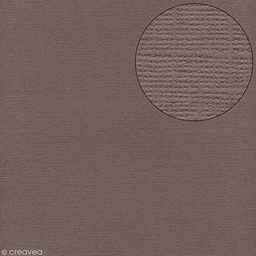 Bazzill Basics Carta Confezione da 25 fogli Texture juneberry tela Scrapbooking