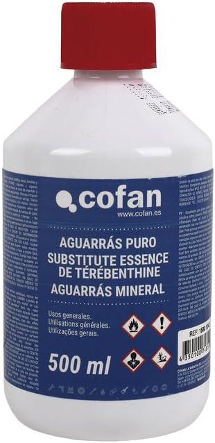 Cofan 15801042 Aguarrás puro, 500 ml