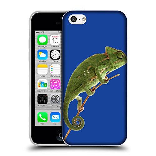 GoGoMobile Coque de Protection TPU Silicone Case pour // Q05680613 caméléon Blu // Apple iPhone 5C