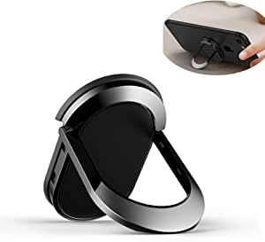 حامل حلقي للهاتف الخلوي للإصبع دوار حتى 360 درجة من المعدن لهواتف ايفون وسامسونج وهواوي وشاومي من جيان ZHZJ01B
