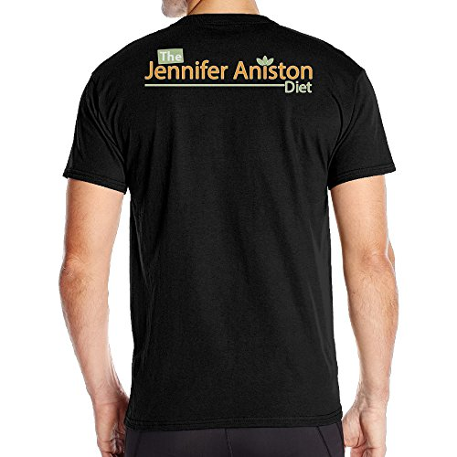 Graphic Design Colleges Vintage Man Jennifer Aniston Black T-shirts (Hairspray Merchandise compare prices)