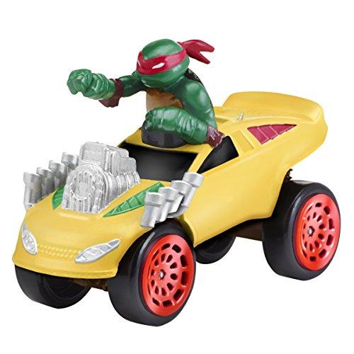 [Teenage Mutant Ninja Turtles T-Machines Raphael in Monster Truck Diecast Vehicle] (Raphael Ninja Turtles)