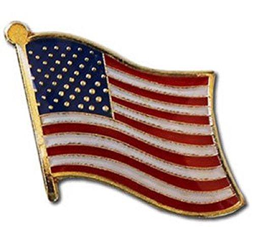 MWS USA American United States Country Flag Bike Motorcycle Hat Cap Bags Jacket Unisex Beautiful Enamel pin Premium Lapel Pin