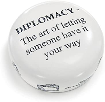 Diplomacy Paper Weight