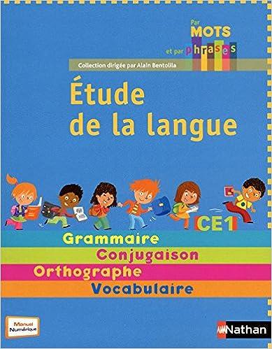 Livre Par mots et par phrases CE1 pdf