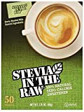 Stevia In The Raw 50 Count Box