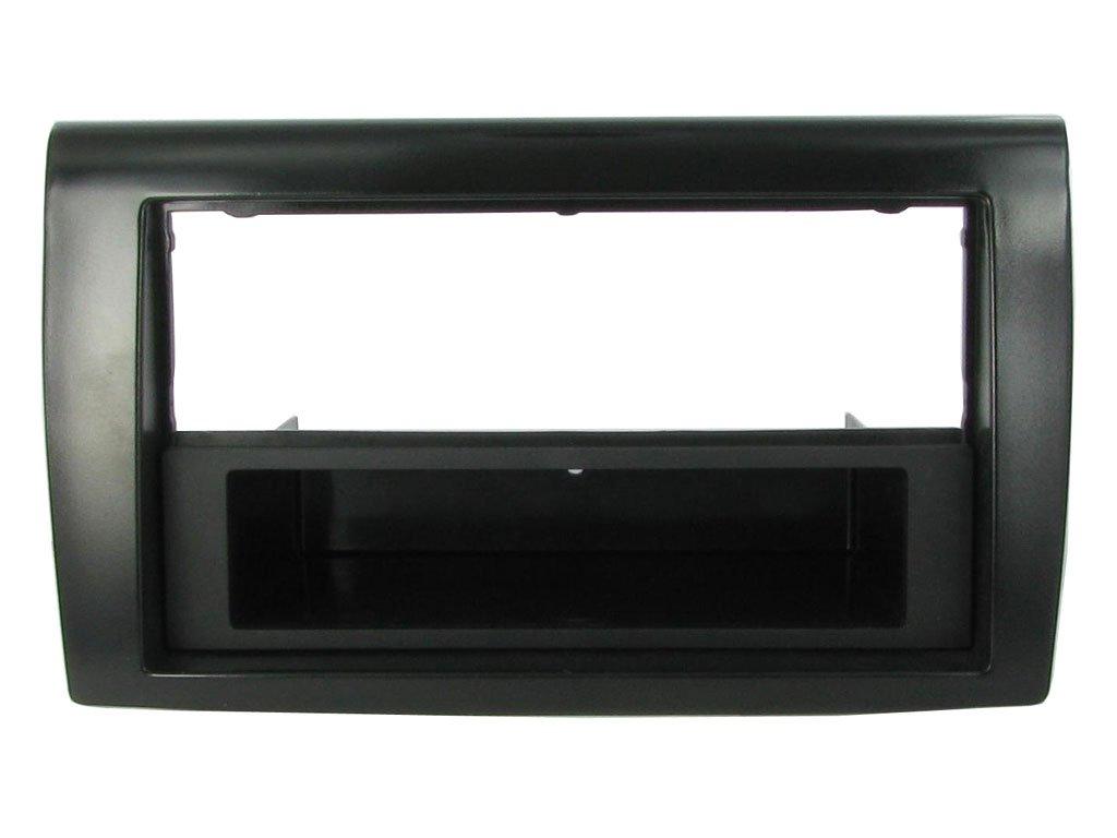 Doppio 2 Din BRAVO dal 2007 in nero lucido Mascherina supporto autoradio 1 DIN G.M ISO Production 2340