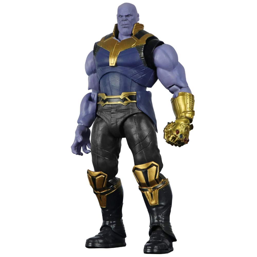 Thanos Model Boy Spielzeug Thanos Action Figure XBWJ Marvel Thanos Toy Ganzk/örper-Gelenkaktivit/ät 6 Zoll