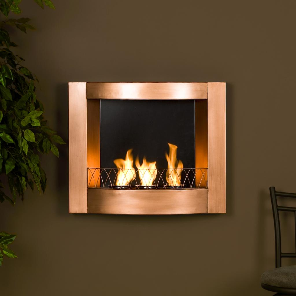 southern enterprises copper wall mountable gel fuel fireplace rh amazon ca