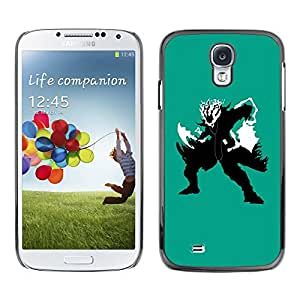"For Samsung Galaxy S4 , S-type Guerrero de las sombras"" - Arte & diseño plástico duro Fundas Cover Cubre Hard Case Cover"