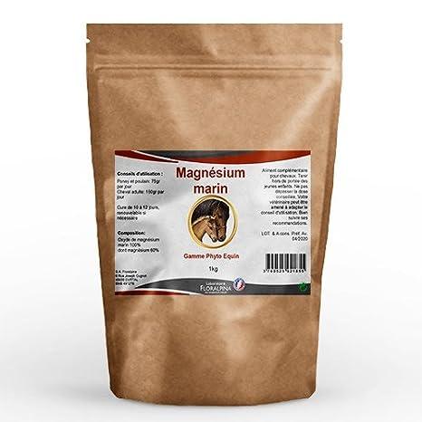 Ruedesplantes magnesio Marino 1 kg para caballos: Amazon.es: Productos para mascotas