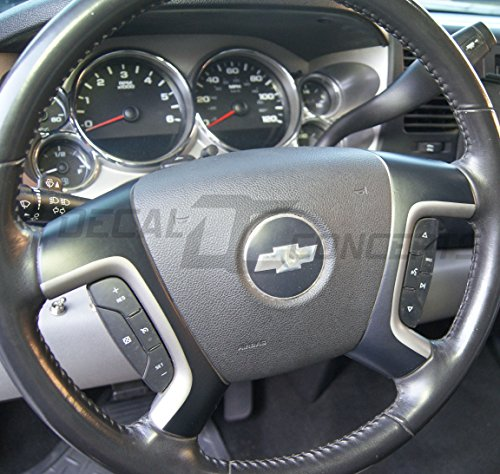 compare price chevy steering wheel decal on. Black Bedroom Furniture Sets. Home Design Ideas