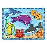 MELISSA & DOUG SEA CREATURES CHUNKY PUZZLE (Set of 6)
