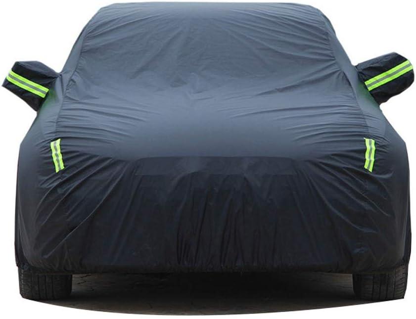 Color : Blue, Size : Built-in lint Housses pour Auto Compatible avec Land Rover VELAR Oxford Toile de Protection Solaire Protection Contre la Pluie Imperm/éable Protection Contre la Pluie