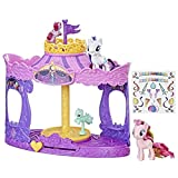 My Little Pony Musical Carousel with Pinkie Pie and Rarity 3-inch Pony Toys, Kids Ages 3 and Up