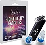 High-Fidelity Noise Filtering Earplugs for Musicians , Party , Clubs , Dancing , Loud Music to Reduce Sound , Have Fun while Protecting your Ears Today!