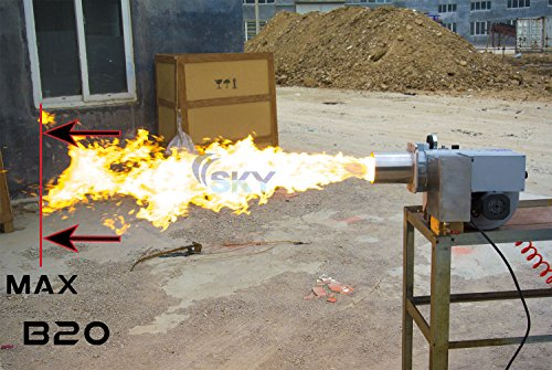 - B-20 Waste Oil Burner for Heating Shops and Boilers