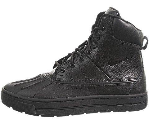 Nike Kid's Woodside Boot, Black/Black, 7 M US Big Kid