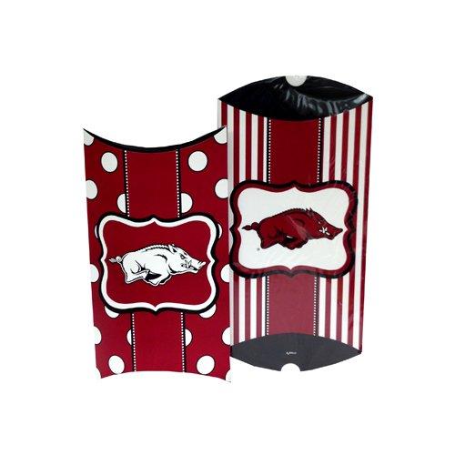 Game Day Outfitters NCAA Arkansas Razorbacks Pillow Gift Box Set (2 Piece), One Size, ()