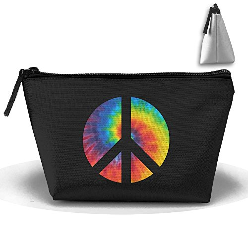 Dye Pouch Organizer Bag Trapezoid Sign Clutch Storage Peace Travel Tie UPdqBx4B