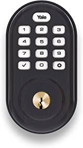 Yale Assure Lock - Keypad Door Lock in Bronze
