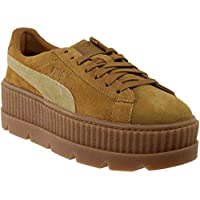 PUMA Women's Cleated Creeper Suede Ankle-High Fashion Sneaker