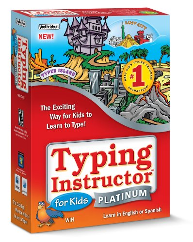 Picture of a Typing Instructor for Kids Platinum 12304261841,18527101841,77344344121