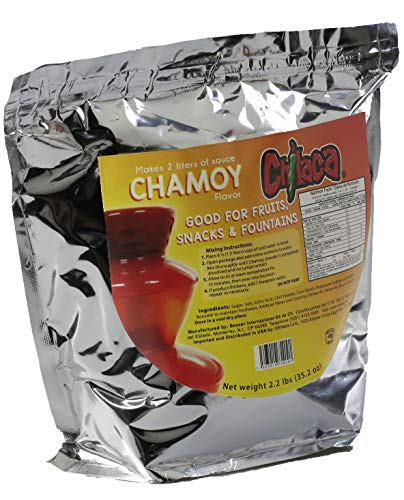 Chilaca Fountain Powder Sauce Mix. (Chamoy) Enjoy Our delicious Sauce at your next event or family gathering. Each bag contains 2.2lb makes up to 2.5 liters. (Chamoy)